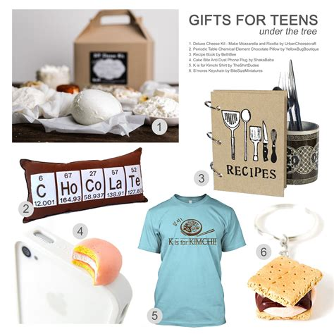 foodie gift guide 2013 gifts for teens
