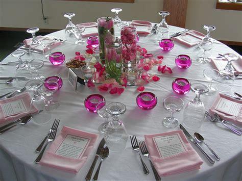 wedding reception table decoration ideas design bookmark 3730