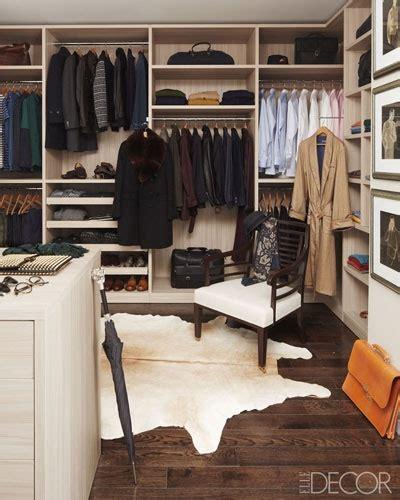 mens closet mens walk in closet design traditional closet elle decor
