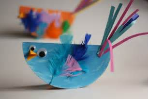 paper plate bird craft for kids easy and so cute