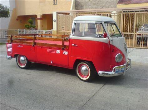 imagenes pick up volkswagen volkswagen combi pick up pickup 1954 im 225 genes del auto