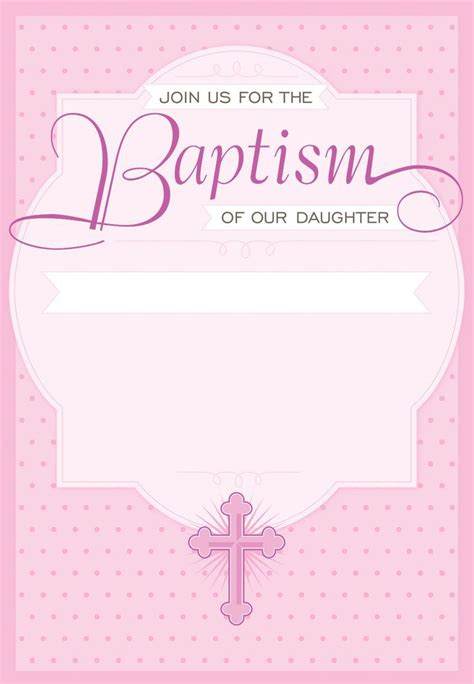free baptism templates for printable invitations free baptism invitations to print baptism invitation