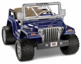 power wheels jeep wrangler rubicon 027084646085 269 99