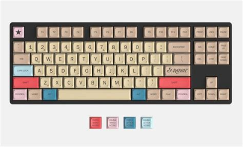 ef scrabble word massdrop scrabble keyboard puts the words at your