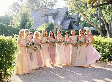Mix Of Neutral Style Couture In The City Fashion Couture In The City by Mix And Match Bridesmaid Dresses