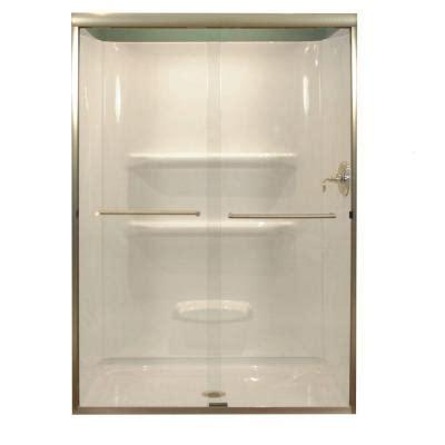 Lyons Industries 47 In X 68 In Semi Framed Sliding Lyons Shower Doors