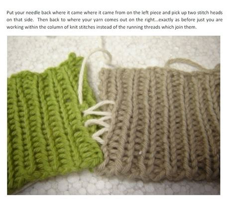 how to do mattress stitch in knitting mattress stitch on ribbing 183 how to knit 183 yarncraft on