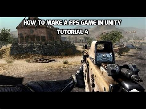 fps tutorial unity 4 x tutorial 4 how to make a fps game with unity adding enemy
