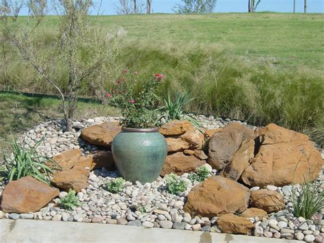 Rock Garden With Potted Plants Rock Garden Ideas With Stunning Scenery Traba Homes