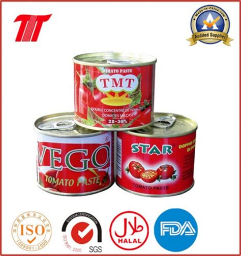 Shelf Of Canned Tomato Sauce canned tomato paste