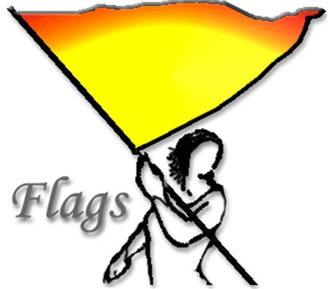 used color guard flags colorguard clipart flags