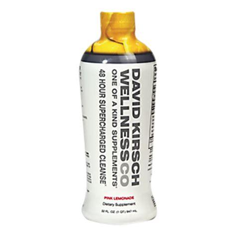 David Kirsch Detox Review by 48 Hour Charged Cleanse Lemonade 32 Fluid Ounces