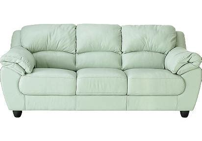 Mint Green Leather Sofa Mint Green Leather Sofa Crate Barrel Lounge 83 Sofa And Polyvore Thesofa