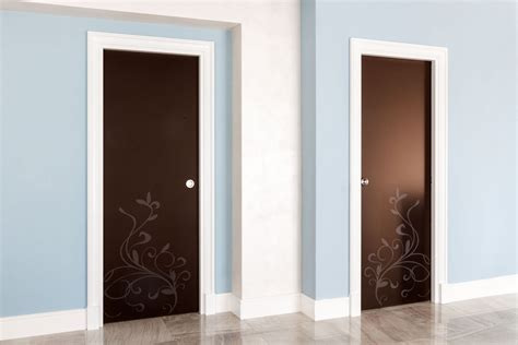 porte interne vetro porte per interni di design su misura in legno e vetro con