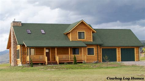 prong horn floor plan 2 218 square cowboy log homes