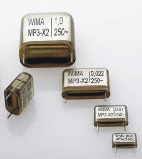 capacitor wima mp3 x2 wima
