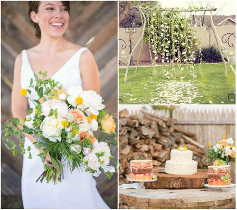 ideas for backyard wedding diy backyard wedding ideas 2014 wedding trends part 2
