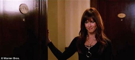 aniston hotel room aniston rs up the sleaze as mad dentist in trailer for horrible bosses 2