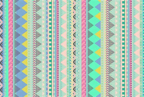 tribal pattern pastel wallpaper vasare nar illustration portfolio pastel aztec pattern