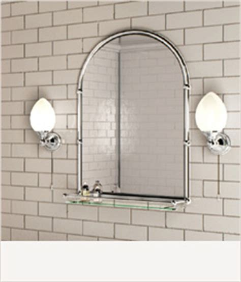 bathroom mirrors with lights uk burlington 174 bathrooms range next day delivery