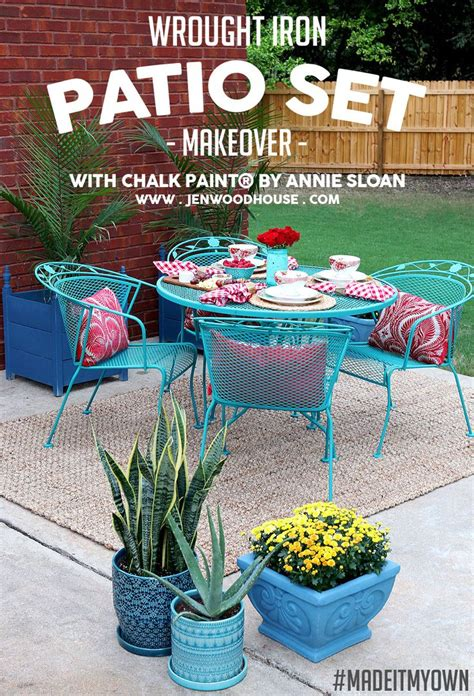 25 best ideas about painted patio furniture on painted patio table painted outdoor