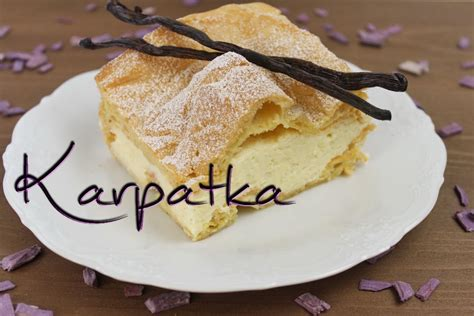 polnische kuchen karpatka rezept polnischer windbeutelkuchen mit