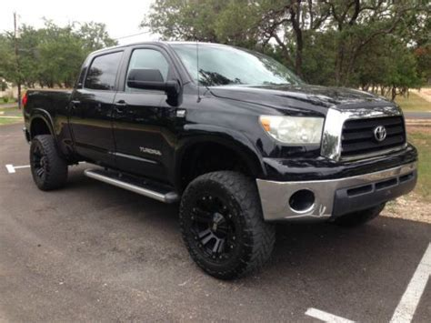 Used Toyota Tundra Crewmax 4x4 For Sale Purchase Used 2008 Toyota Tundra Crewmax 4x4 Lifted In