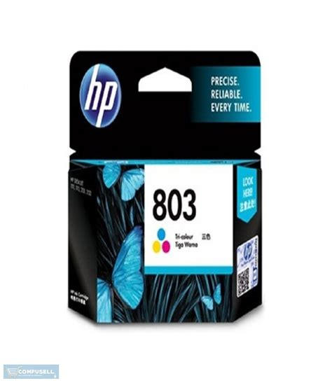 Tinta Cartridge Hp 803 Tri Colour hp 803 tri colour ink cartridge f6v20aa buy price purchase