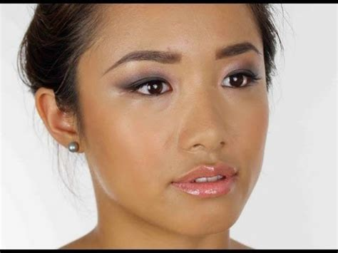 Eyeshadow Zetten smokey make up for asian or hooded