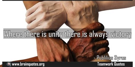 unity    victory quote meaning