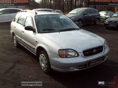 Suzuki Baleno 1999 Specs 1999 Suzuki Baleno Diesel Car Photo And Specs