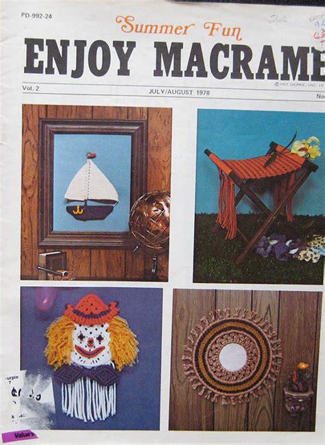 Macrame Magazine - enjoy macrame magazine