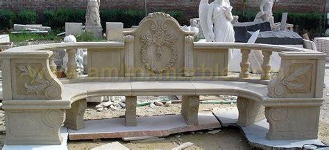 sandstone garden bench hand crafted stone garden bench carved sandstone garden