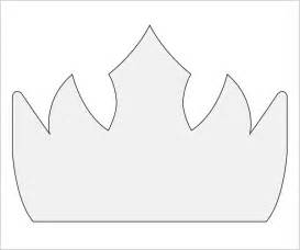 template of a crown crown template 11 documents in pdf