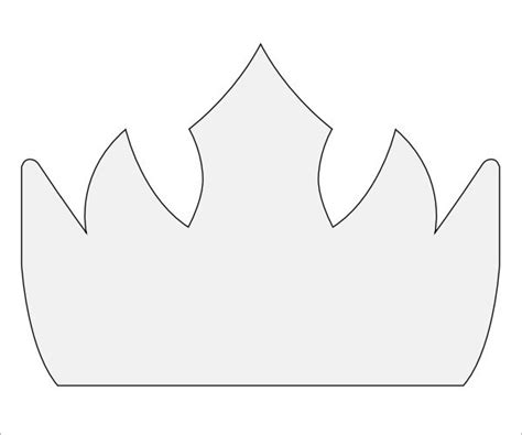 free printable tiara template the gallery for gt tiara crown template