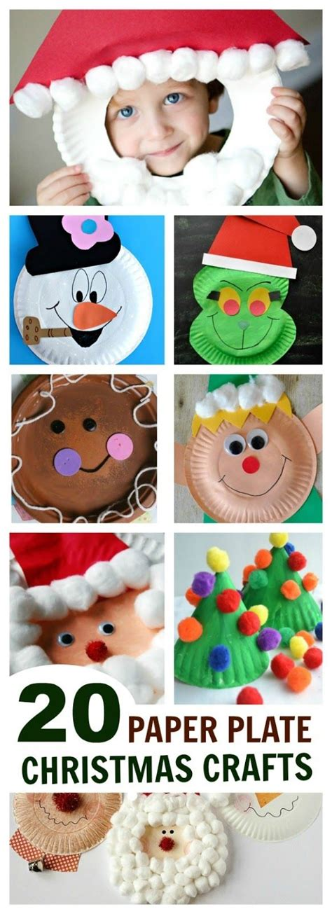 easy christmas crafts for schools 20 easy paper plate crafts growing creative f 246 r barn