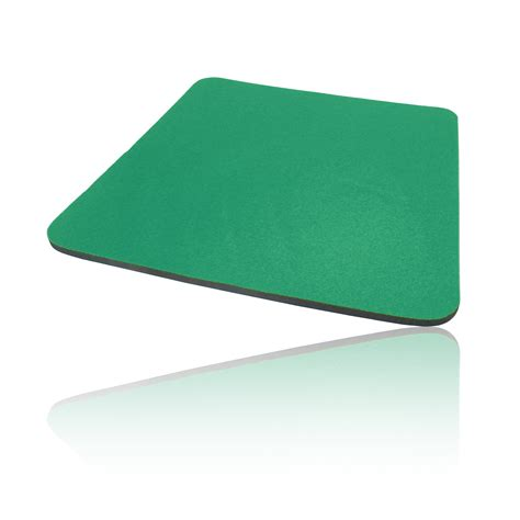 foam cloth covered pc computer mice mouse mat pad green