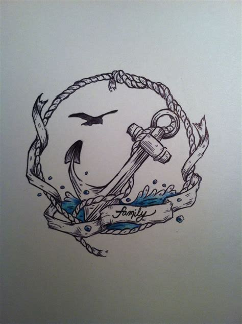 nautical tattoo idea of my own design tattoo ideas