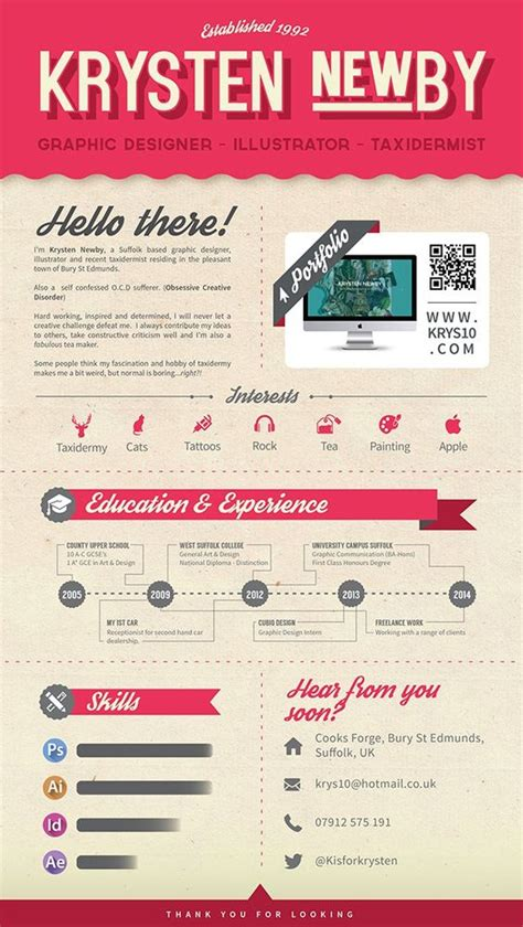 Resume Graphic Design Inspiration 50 inspiring resume designs and what you can learn from