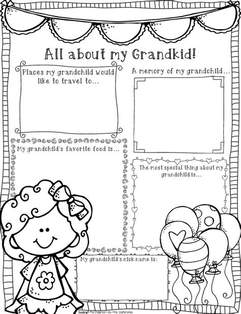 Activities Graphic 1 9 best grandparents day images on acrostic