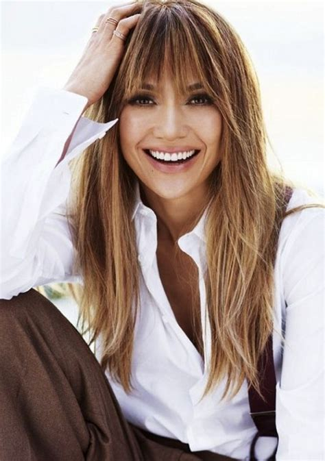 hairstyles for long hair jennifer lopez 4 bangs hairstyles to bang or not to bang fashion tag blog