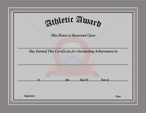sports award templates 502 best images about certificate template on