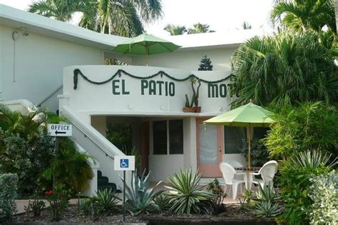 the office building picture of el patio motel key
