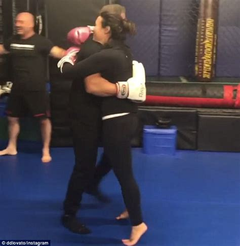 swing knocked up demi lovato takes a swing at rocky legend sylvester