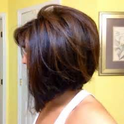 concave bob hairstyle pictures concave bob hairstyle with subtle highlights short