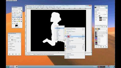 tutorial gimp freistellen gimp 2 6 tutorial objekte freistellen mit gml matting