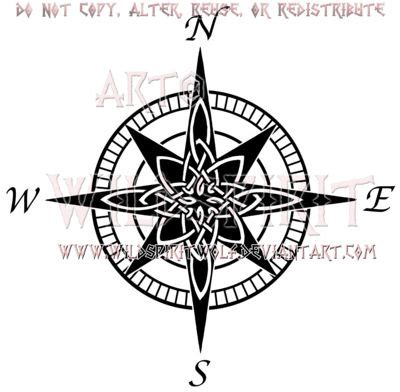 celtic compass rose tattoo compass design a collection of tattoos ideas to