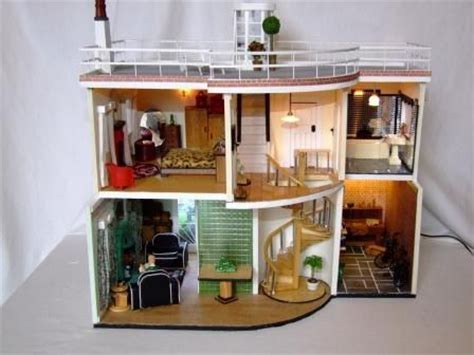 1930s dolls house 1930s art deco dolls house playing house pinterest