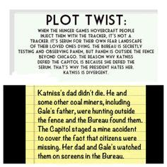 1000+ images about hunger games / divergent. plot twist on