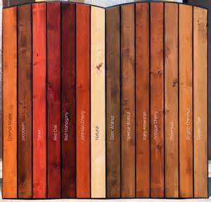 stained wood colors best 25 wood stain ideas on stain colors